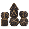 DND Matt Gold Dice